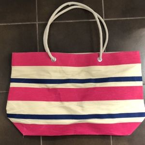 DSW Striped Beach Bag or tote